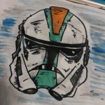 Clone Trooper art by John N.