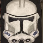 Clone Trooper art by Jon E.