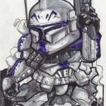 Clone Trooper art by Jose I.