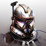 Clone Trooper art by Justine H.