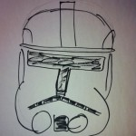 Clone Trooper art by Glen B.