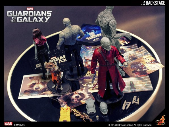 Hot Toys reveals a first look at upcoming Guardians of the Galaxy figures!