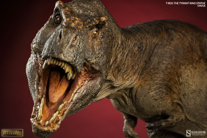 Sideshow's Dinosauria presents T-Rex, the Tyrant King!