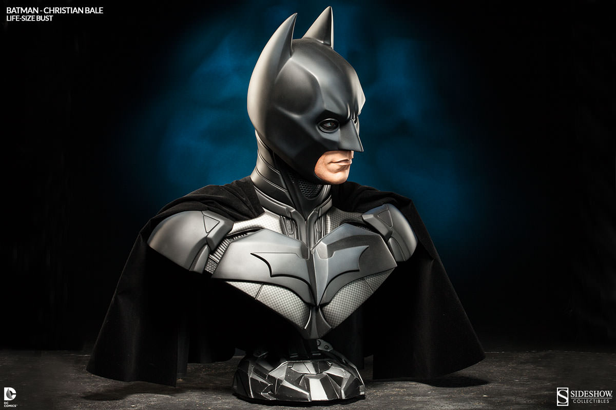 Batman Dark Knight Life-Size Bust Christian Bale