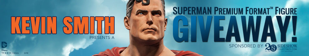 Kevin Smith Superman Giveaway