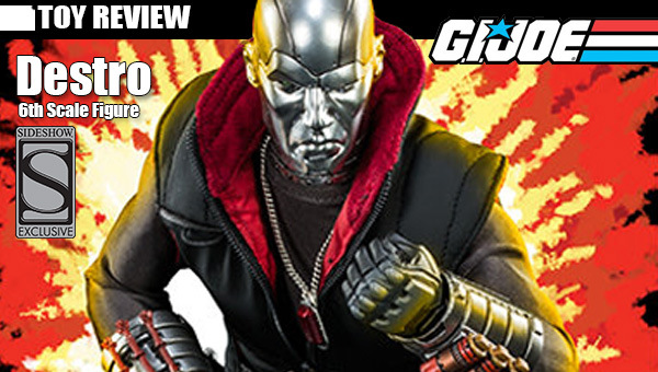 Destro Sixth Scale Figure review – because knowing is half the battle!