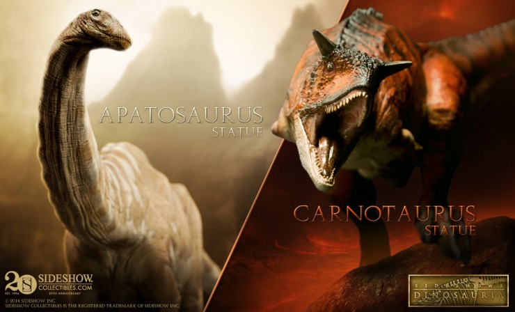 Next additions to Sideshow's Dinosauria