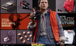 Hot Toys Marty McFly Back to the Future Sixth Scale Figure