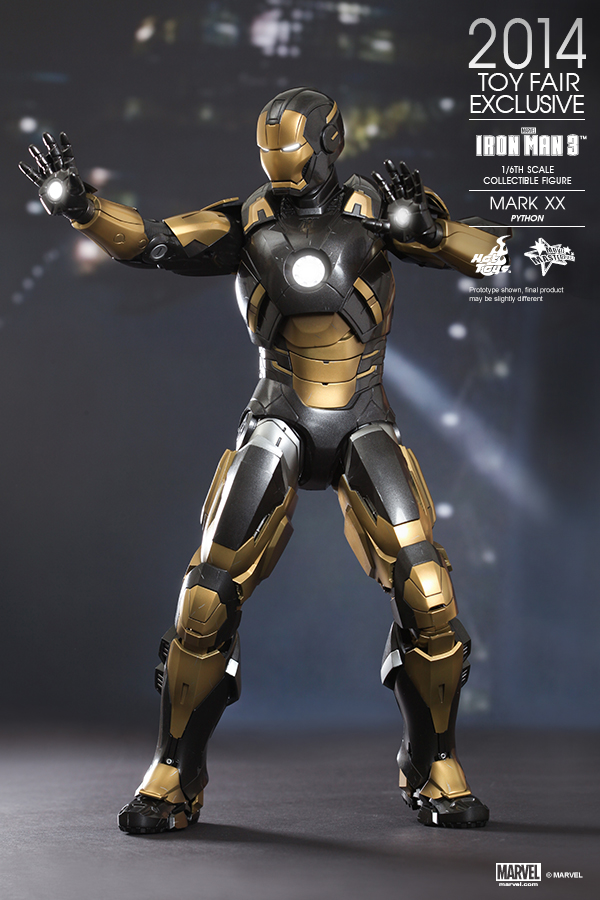 Toys For 20 : Hot toys announces summer convention exclusives