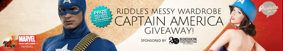 Riddle Captain America Giveaway