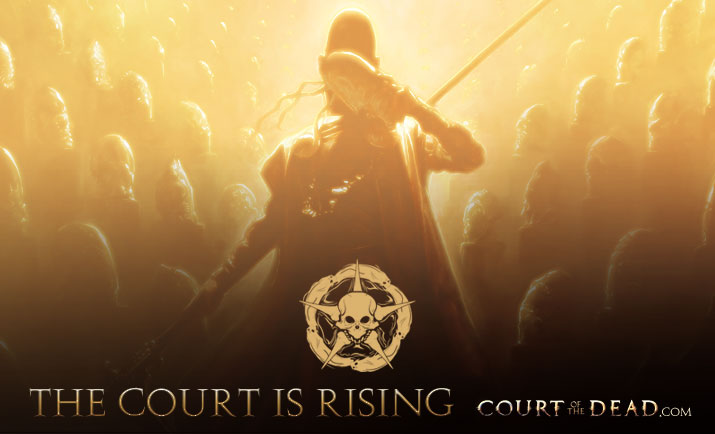 The Court is rising at CourtoftheDead.com