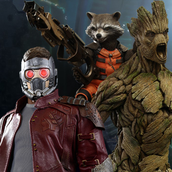 Guardians of the Galaxy Hot Toys Collectibles