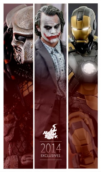Hot Toys announces 2014 summer con exclusives!