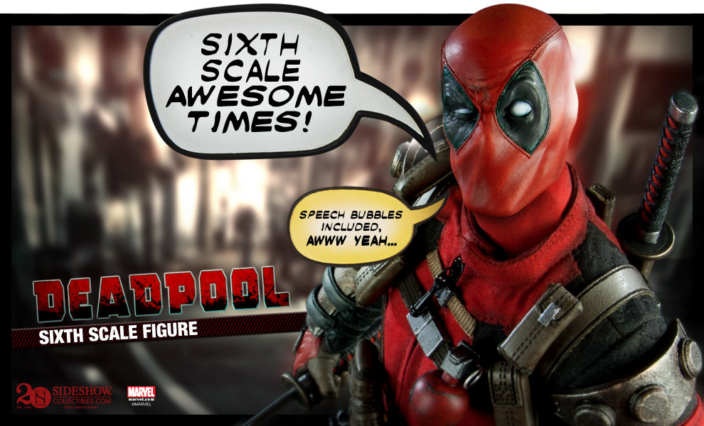 [Sideshow] Marvel Sixth Scale Collection - Deadpool Preview_DeadpoolSixthv03