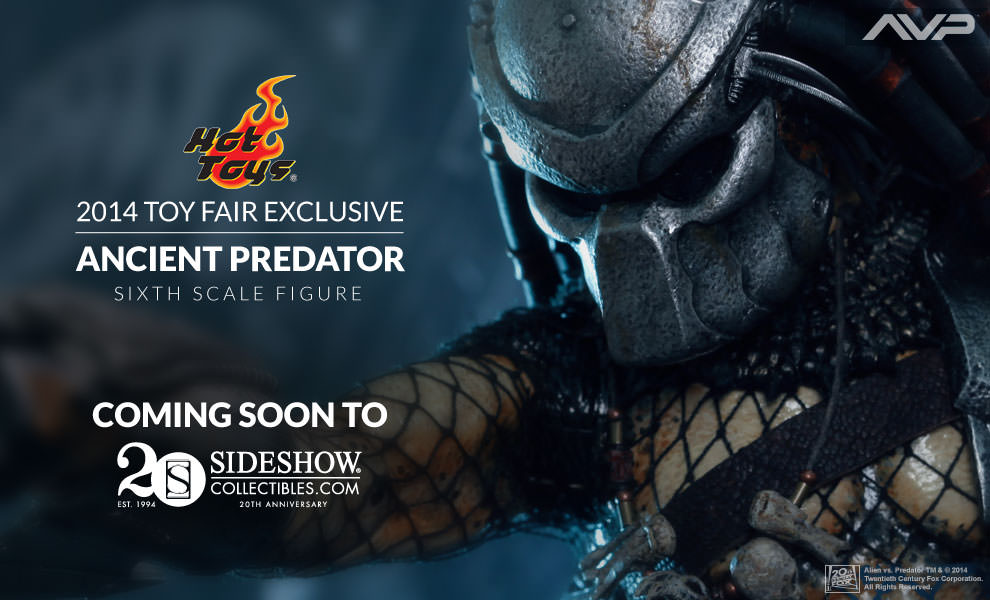 Hot Toys Ancient Predator Figure