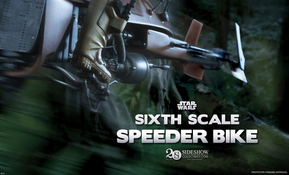 Speeder Bike Sixth Scale Preview