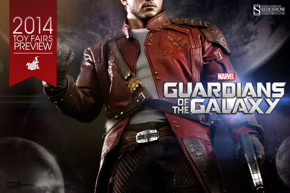 Star-Lord Sixth Scale Figure Tease