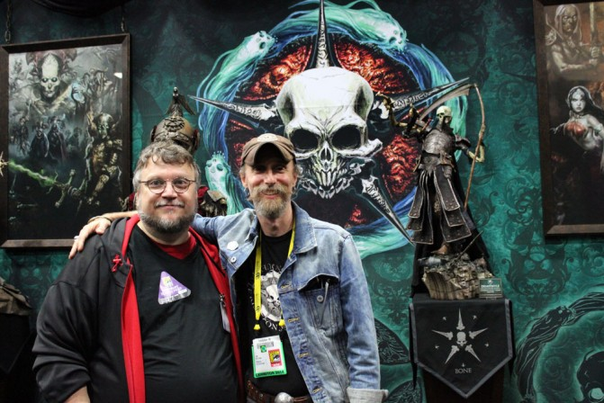 Guillermo del Toro visits the Court of the Dead