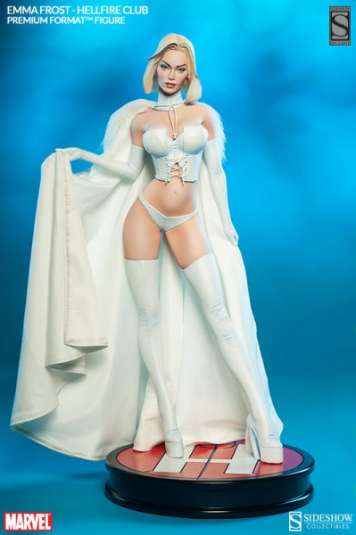 Exclusive Emma Frost Hellfire Club Premium Format Figure