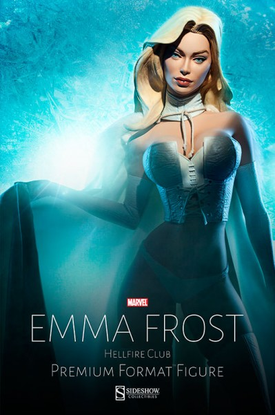Bow before Emma Frost, the White Queen!
