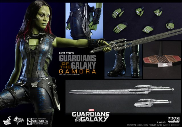 Hot Toys Gamora joins the Guardians of the Galaxy!