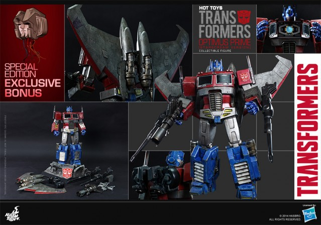 Hot Toys rolls out Transformers collection with Optimus Prime (Starscream Version)