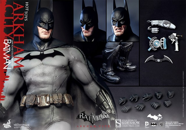 Hot Toys debuts Batman: Arkham City version
