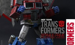 Hot Toys - THE TRANSFORMERS G1 - Optimus Prime (Starscream Version) Collectible Figure_PR3