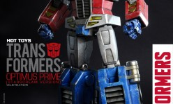 Hot Toys - THE TRANSFORMERS G1 - Optimus Prime (Starscream Version) Collectible Figure_PR4