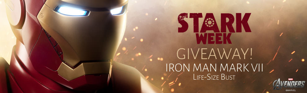 Stark Week Iron Man Bust Giveaway