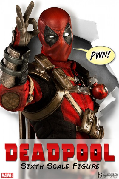 Here comes Deadpool!