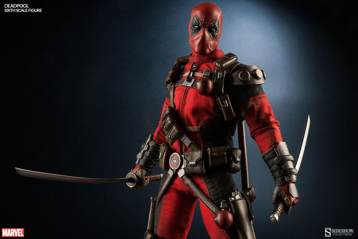 Here comes deadpool sideshow collectibles for Headpool
