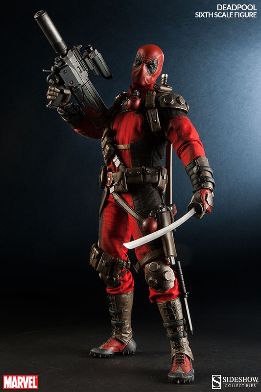 Here Comes Deadpool Sideshow Collectibles