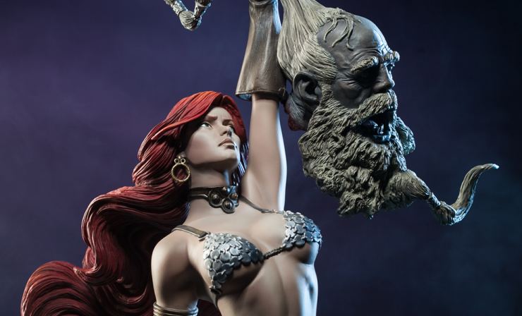 Feast your eyes on new photos of Red Sonja