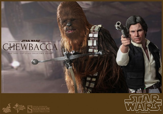 New Hot Toys Han Solo and Chewbacca – Don't everyone thank us at once…
