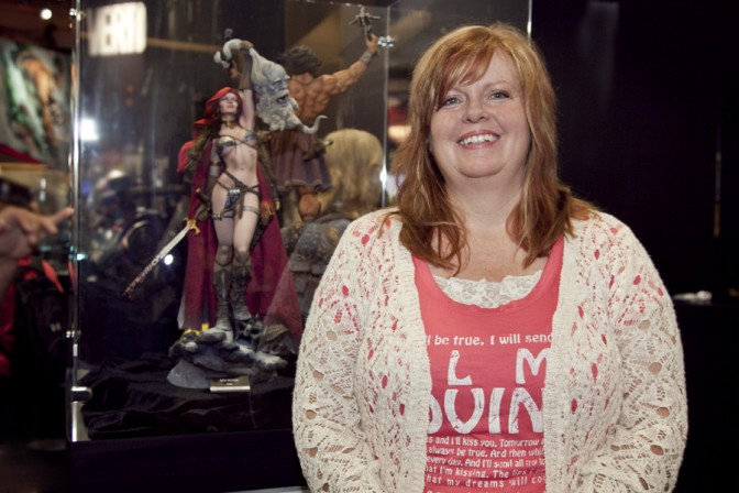 Gail Simone and Dynamite Entertainment present a Red Sonja giveaway!