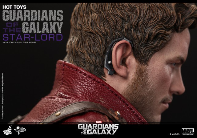 Hot Toys Star-Lord unmasked