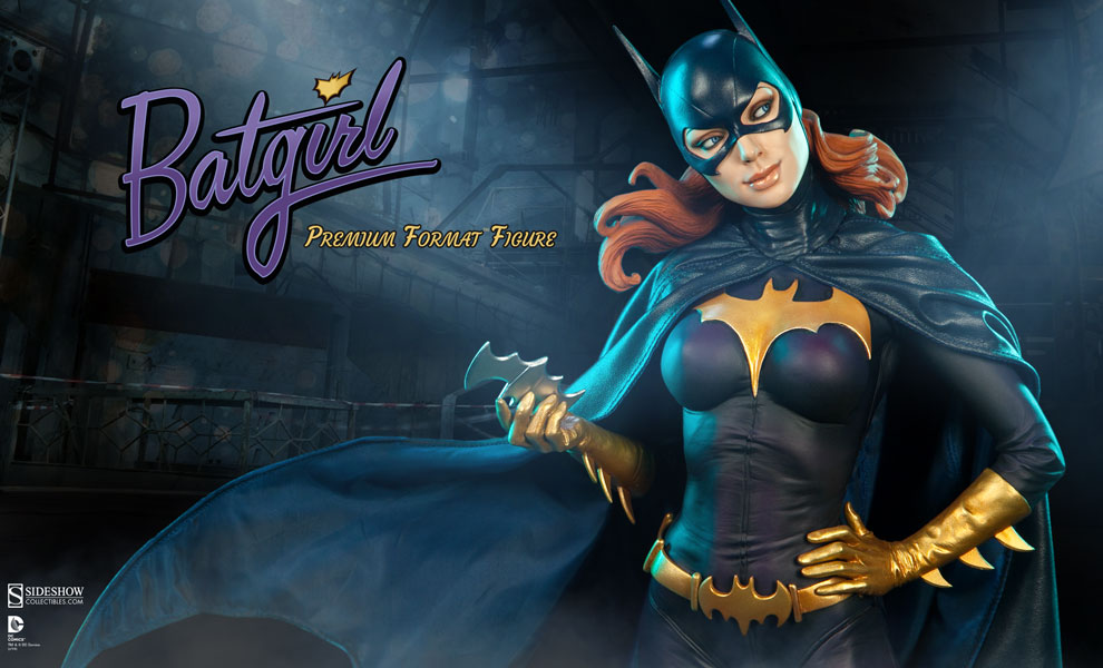 Pleasant Batgirl Premium Format Figure Sideshow Collectibles Hairstyle Inspiration Daily Dogsangcom