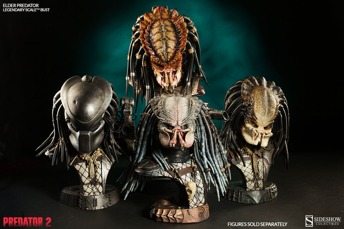 Predator Legendary Scale Bust Collection
