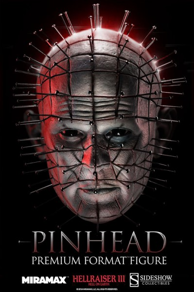 The leader of the Cenobites has arrived — Pinhead Premium Format™ Figure