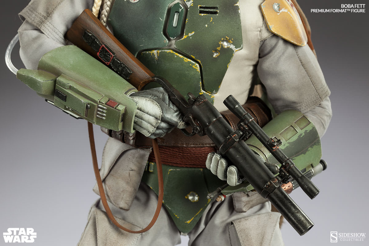 star wars boba fett premium format figure coming soon sideshow collectibles. Black Bedroom Furniture Sets. Home Design Ideas