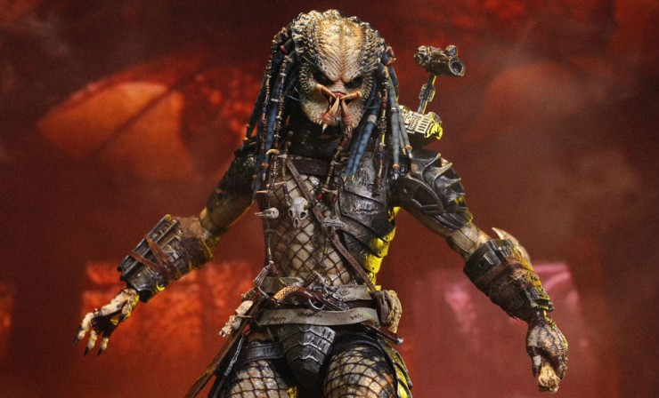 "Hot Toys Elder Predator Sixth Scale Figure – DailyDead.com says, ""Take it"""