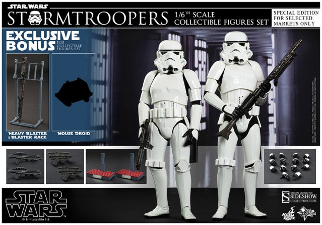 Hot Toys Stormtroopers, reporting for duty!