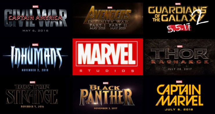 Marvel Studios Announces 'Phase 3' Film Slate