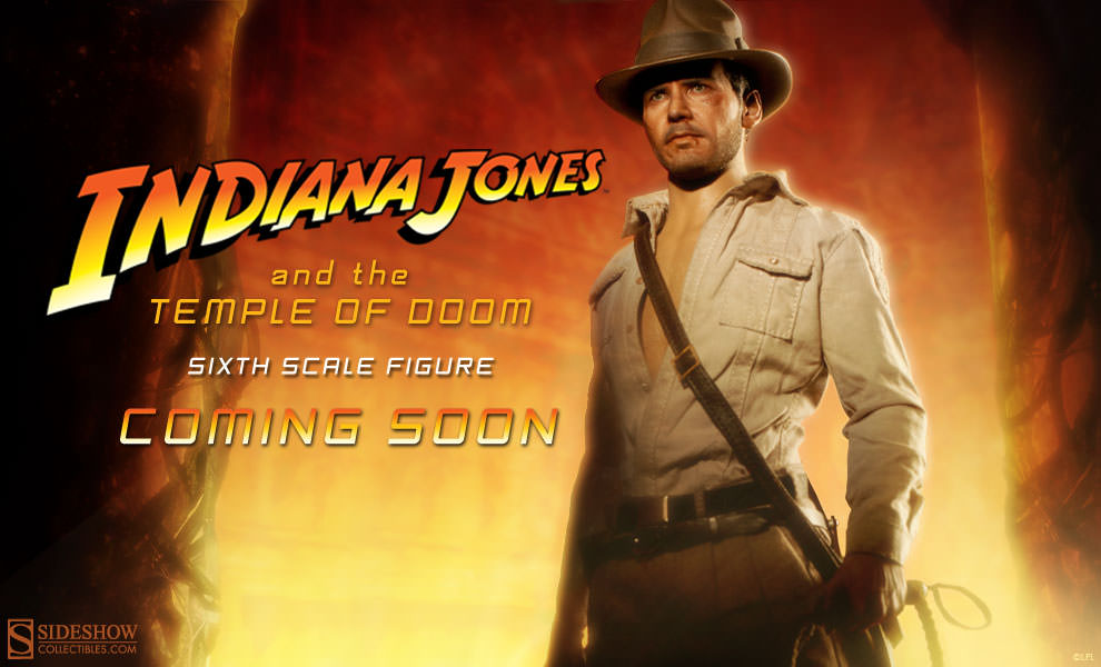 indiana jones temple of doom sixth scale figure sideshow