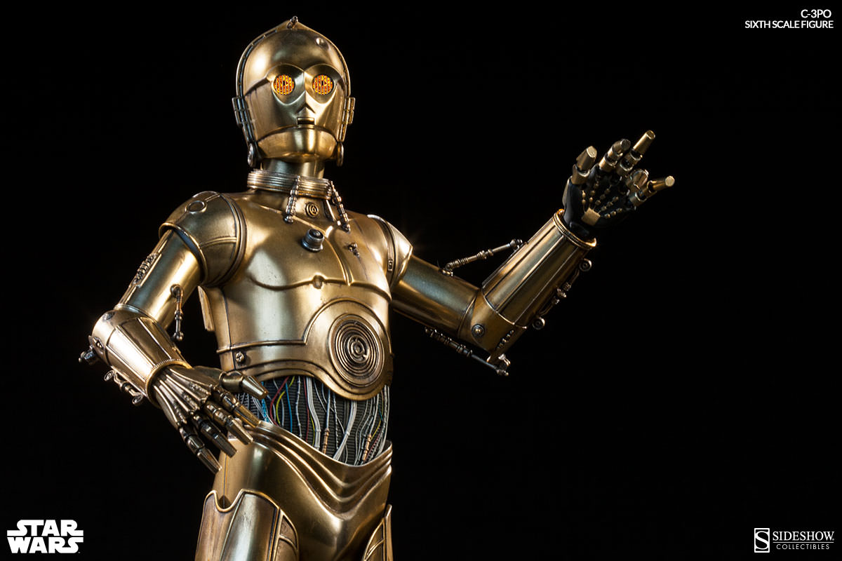 this is the droid you re looking for sideshow c 3po sixth scale figure sideshow collectibles. Black Bedroom Furniture Sets. Home Design Ideas