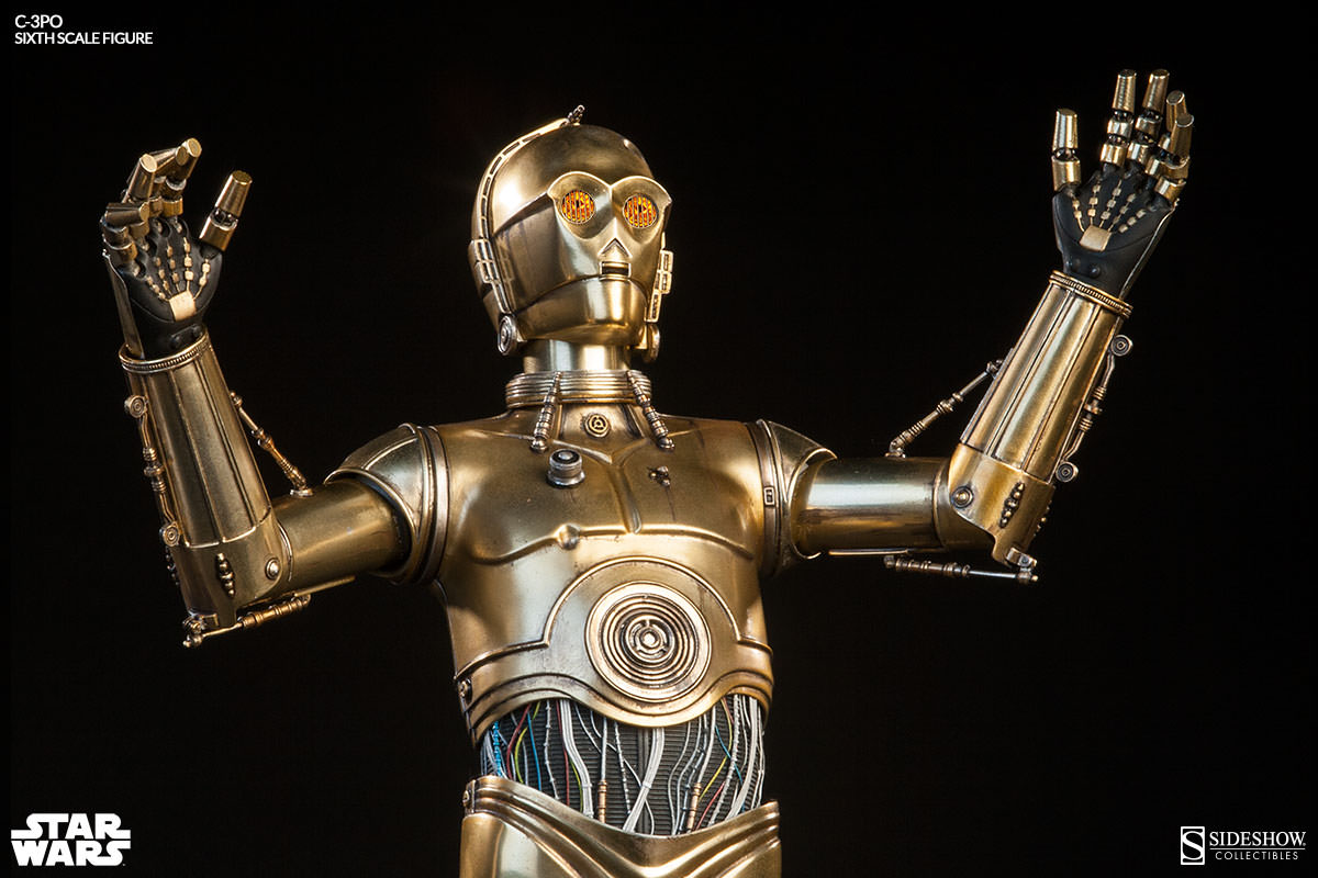 this is the droid you 39 re looking for sideshow c 3po sixth scale figure sideshow collectibles. Black Bedroom Furniture Sets. Home Design Ideas