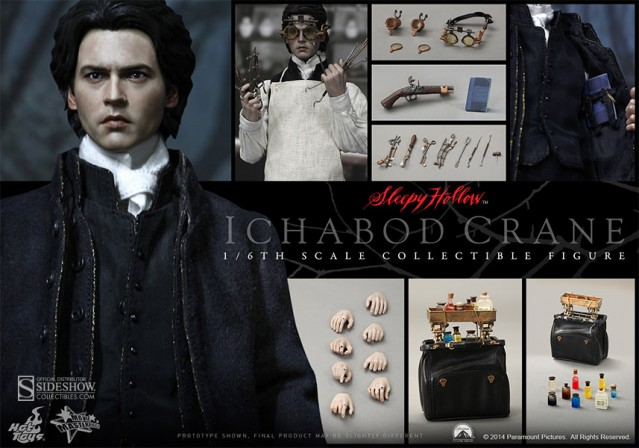 Heads will roll – Presenting Hot Toys Sleepy Hollow Ichabod Crane Sixth Scale Figure