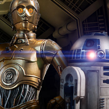 C-3PO & R2-D2 Sixth Scale Figures