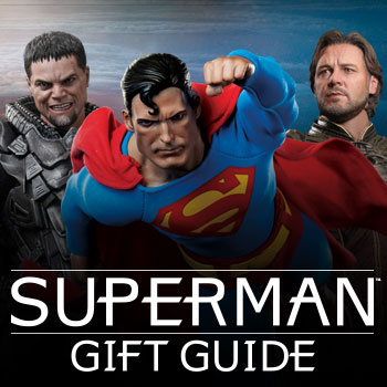 Superman Gift Guide Collectibles